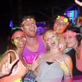 Travellers enjoy the Full Moon Party in Koh Phangan
