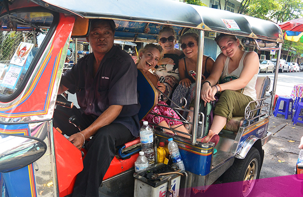 Explore Bangkok in a TukTuk