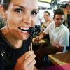 Eating a scorpion in Bangkok
