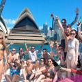 Cruise past Sydney Opera House
