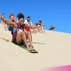 Sandboarding at UltimateOz basecamp
