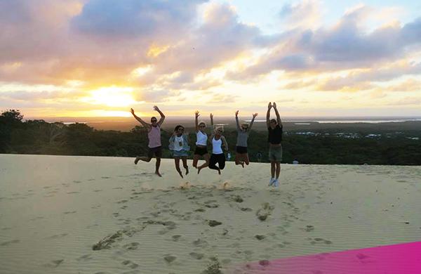 Explore Rainbow beach on the Ultimate East Coast tour