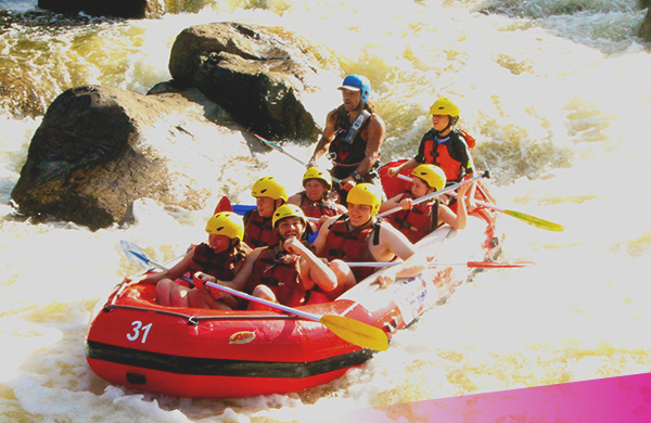 Aussie Adventure-White-water-rafting