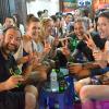 Welcome drinks in Hanoi.