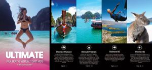 Ultimate Tour Brochure
