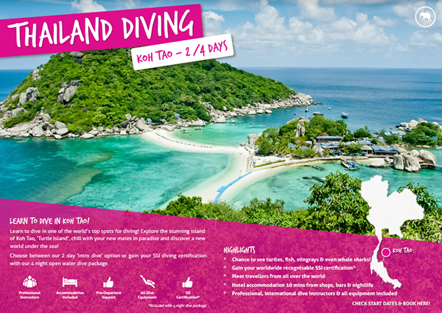 Download your free brochure - Thailand diving