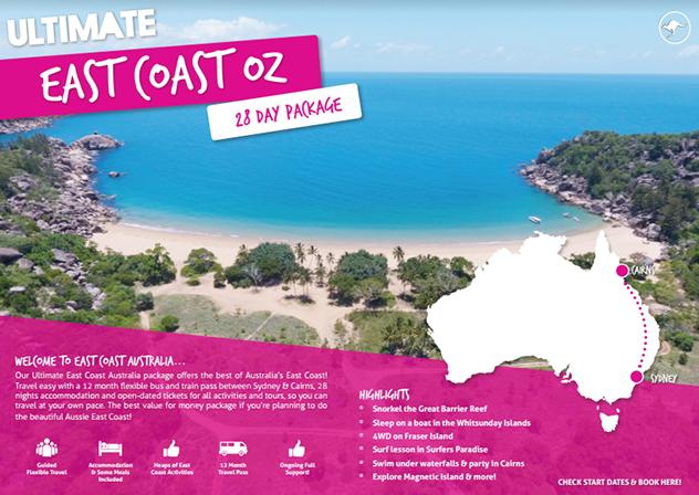 Ultimate East Coast Brochure