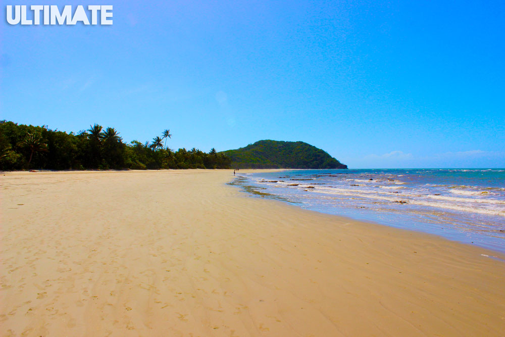 The beach at Cape Tribulation