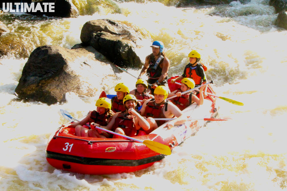 White water rafting in Cairns