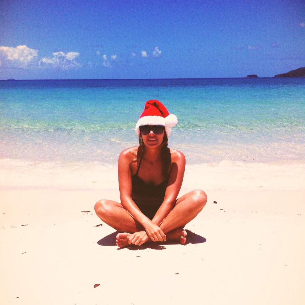 Spend christmas on the beach in Australia