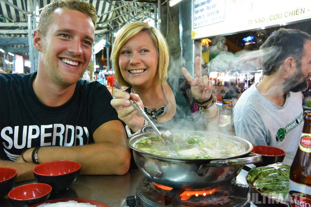 Food in Vietnam is a big part of the culture