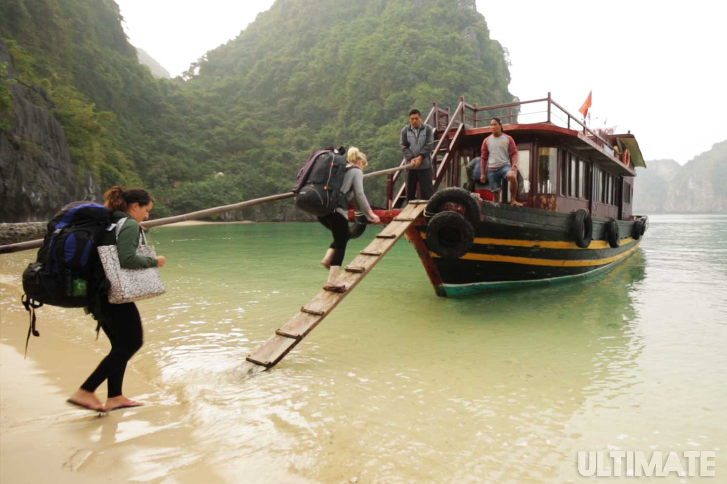 Travelling around Vietnam is easy for backpackers