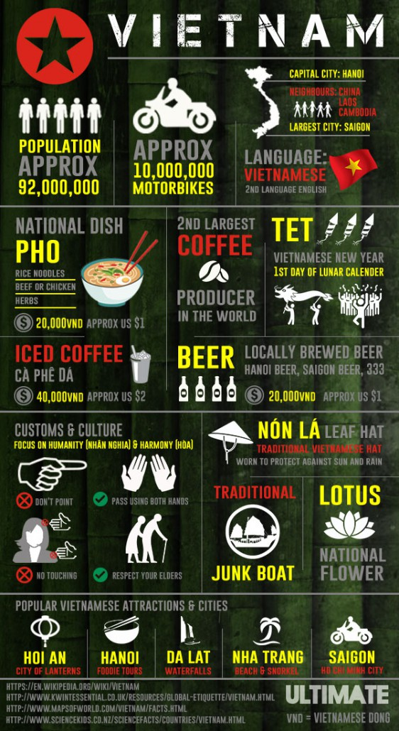The ULTIMATE Vietnam Infographic