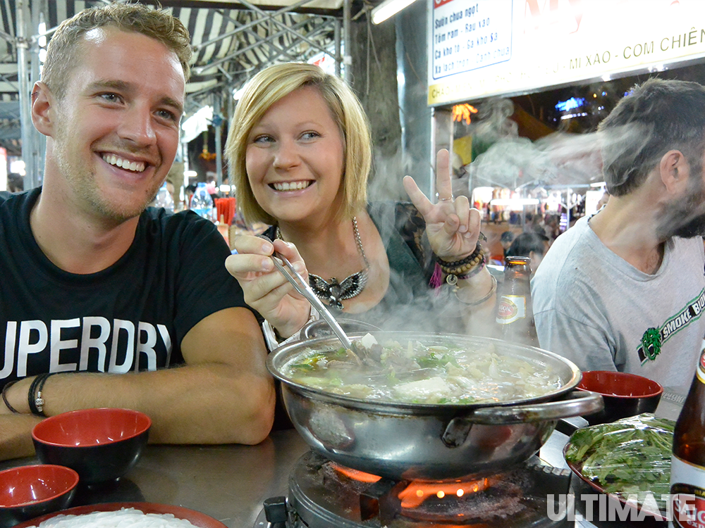 Eat the local food in Vietnam - Ultimate Adventure Travel