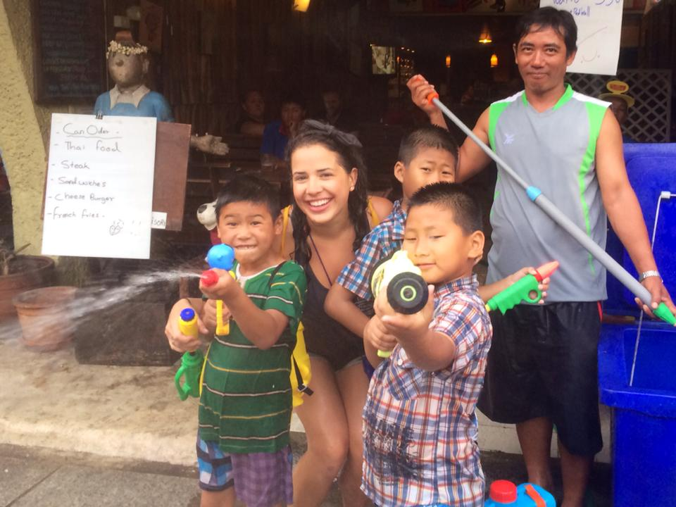 Chill with the locals during Songkran