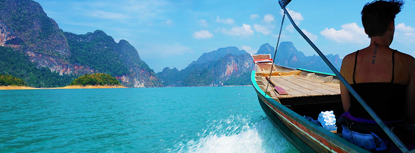 Longtail boat in Thailand