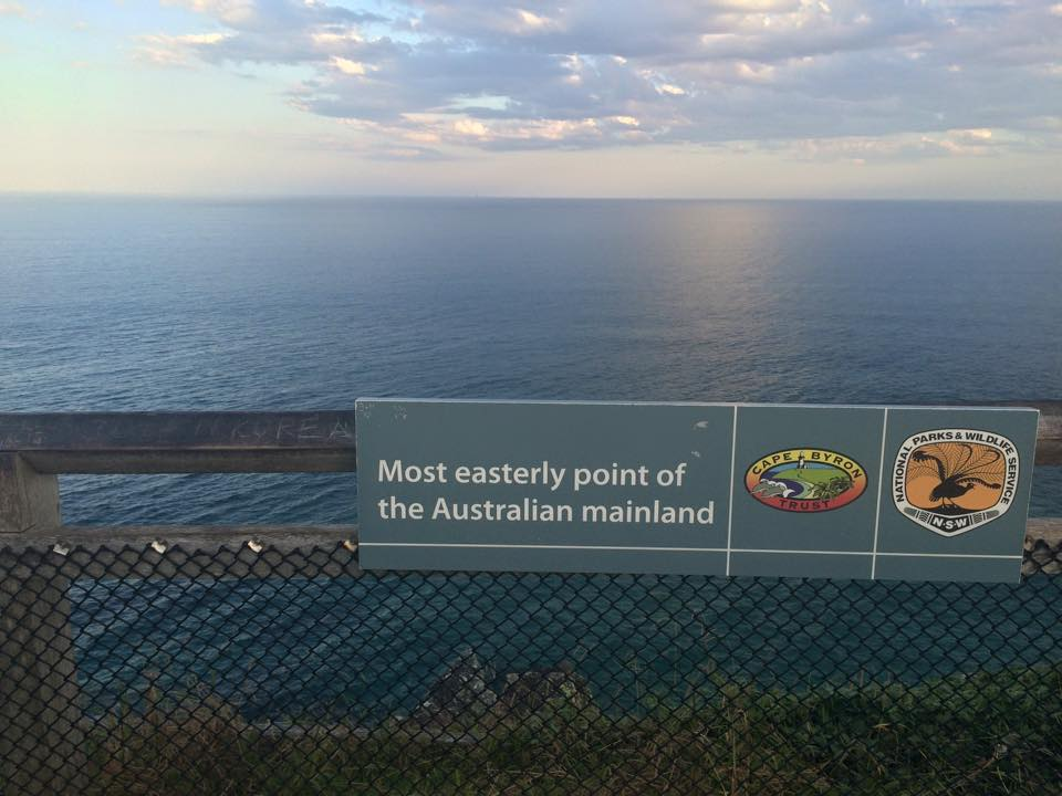 Most Easterly point of Australia