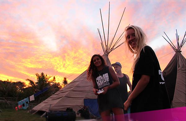 Camp at the Loka river retreat