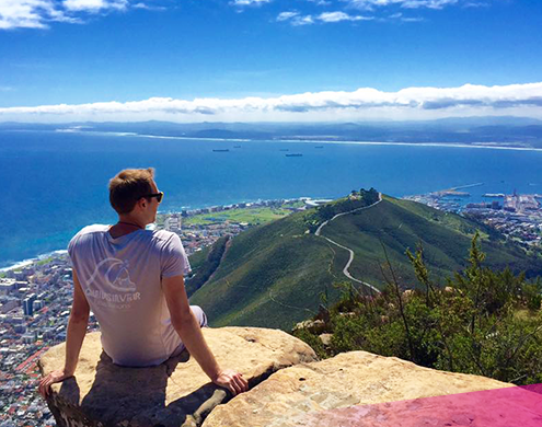 Cape town views on our South Africa Adventure
