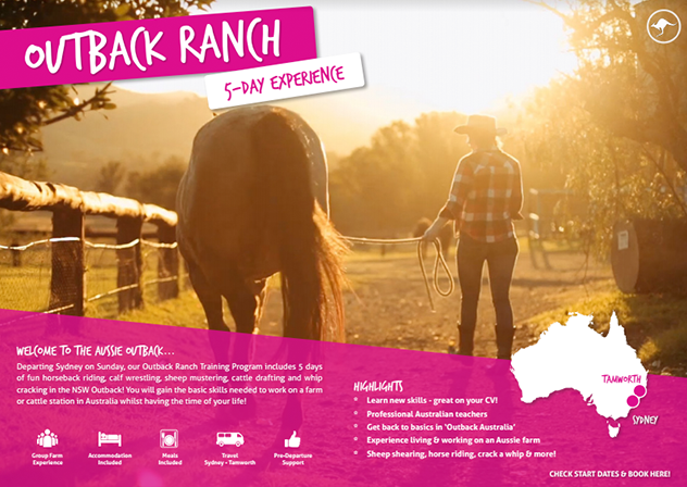 Download your free brochure - Ultimate Outback ranch