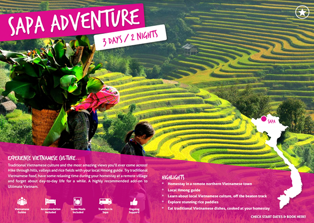 Download your free brochure - Add Sapa on to your Ultimate Vietnam tour!