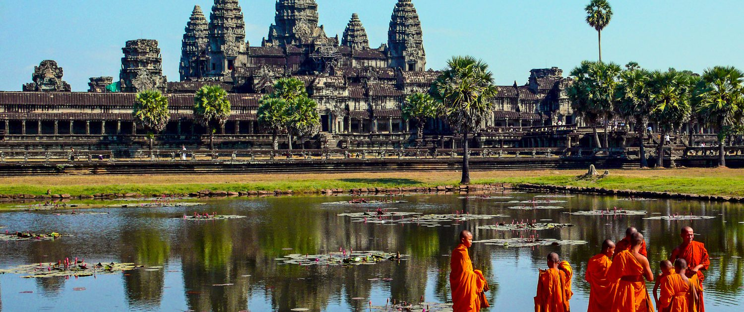Explore stunning Angkor Wat on the Cambodia Adventure