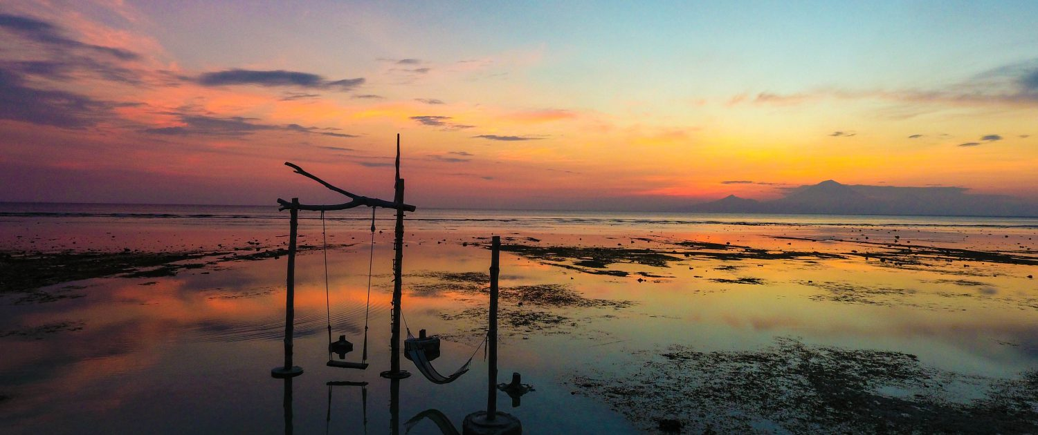 Check out the sunset on Gili T!
