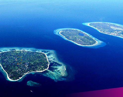 It's time to head to the Gili islands - they're paradise!