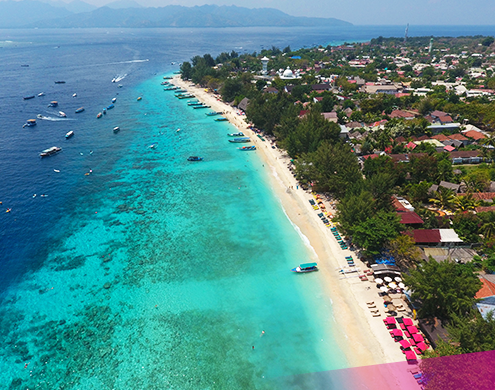Check out paradise in the Gili Islands