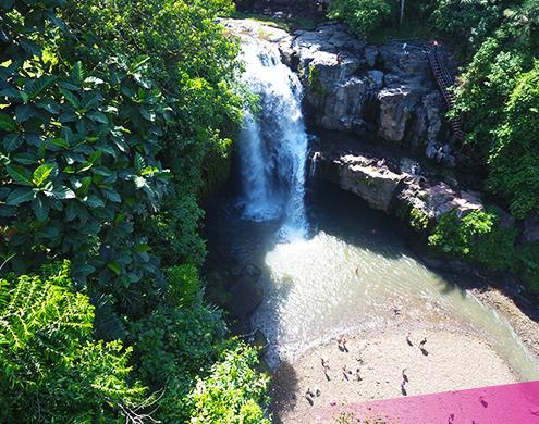 Visit some amazing natural waterfalls