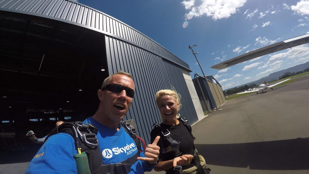 The crew at Skydive Australia were awesome!