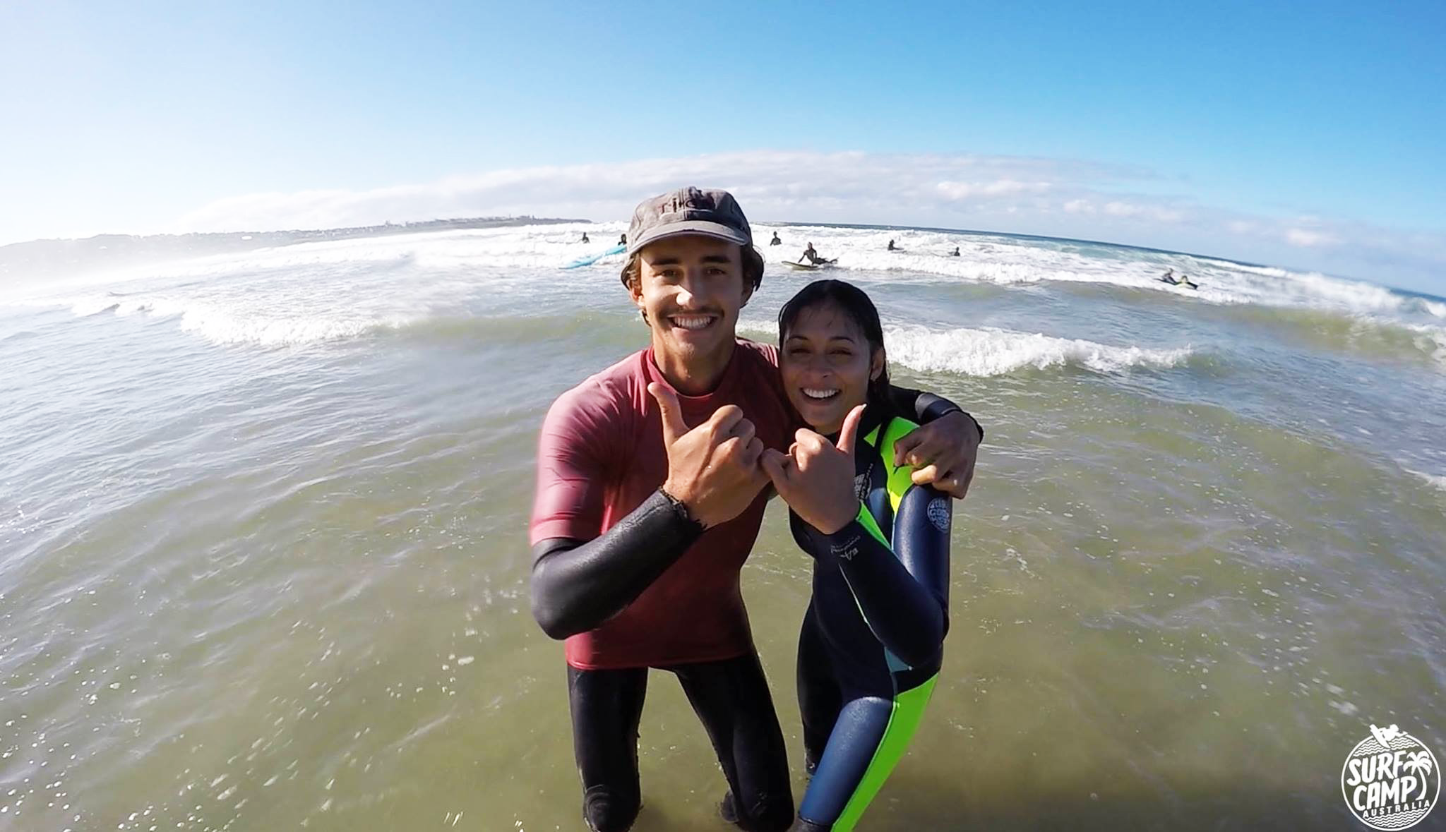 The instructors at Surf Camp Australia are awesome!
