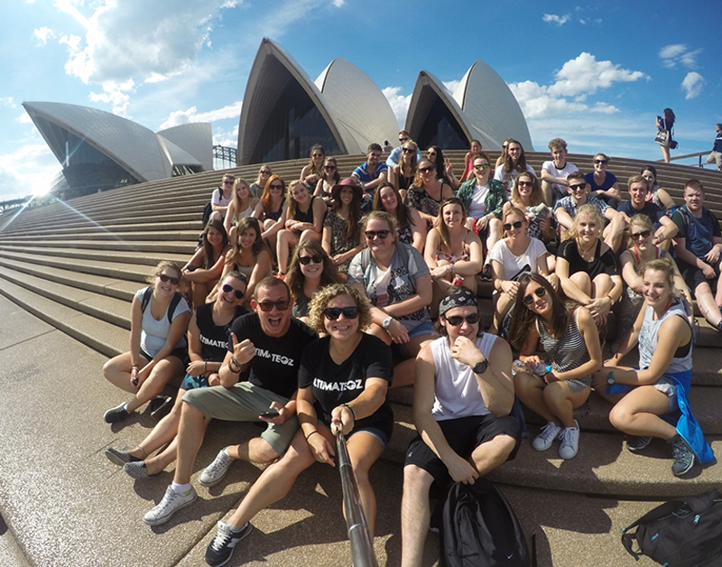 Prepare for your gap year in Australia. You'll meet loads of like-minded people and see all the amazing sites!