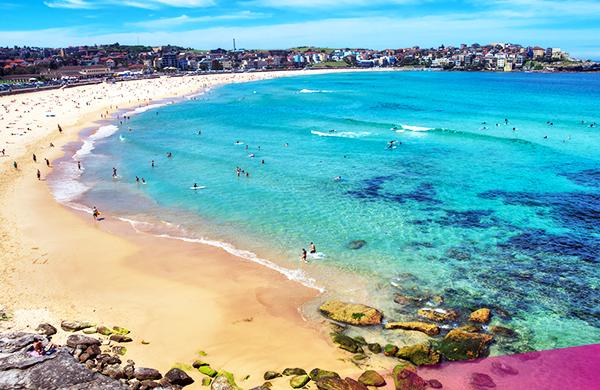 Explore Bondi on our Ultimate Sydney tour!