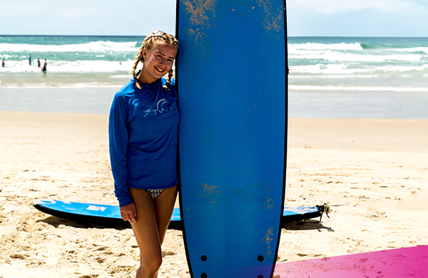 Learn to surf Aussie style on Ultimate Sydney!