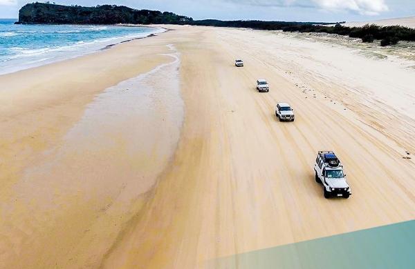 Days 14-16 – Fraser Island