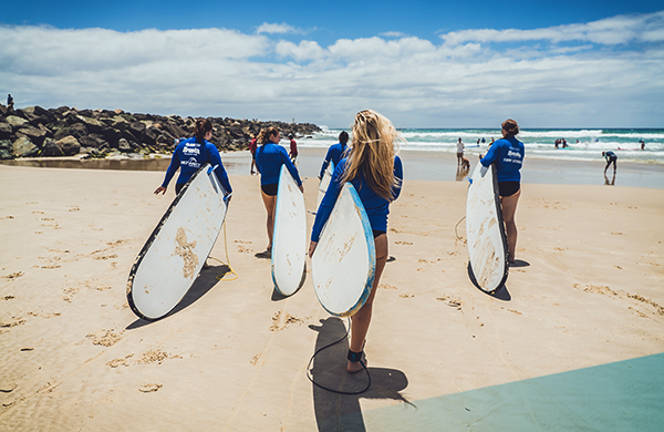 Days 6-8 – Surfers Paradise