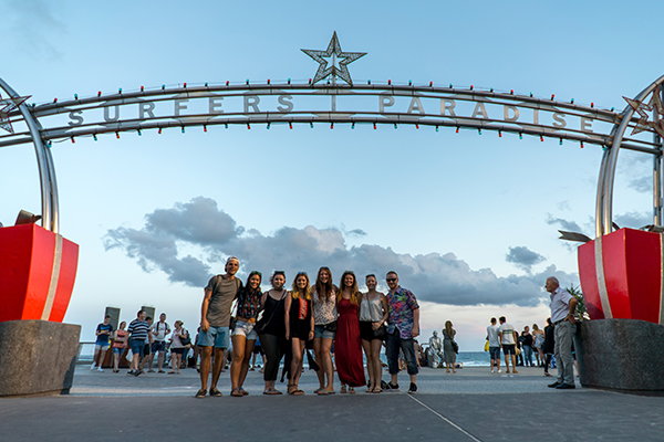 DAY 13-15 SURFERS PARADISE