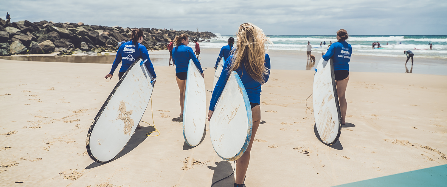 Explore Surfers Paradise on Ultimate East Coast: 4 Week