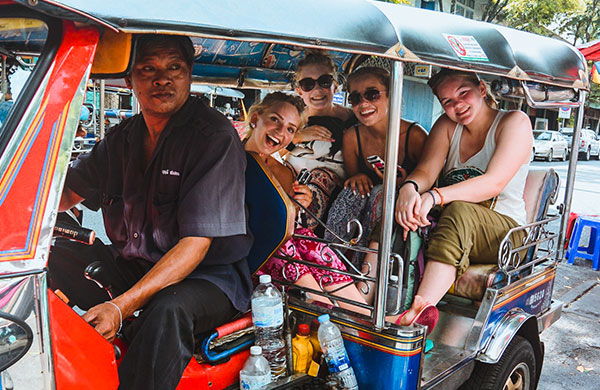 DAY 1 ARRIVE IN BANGKOK