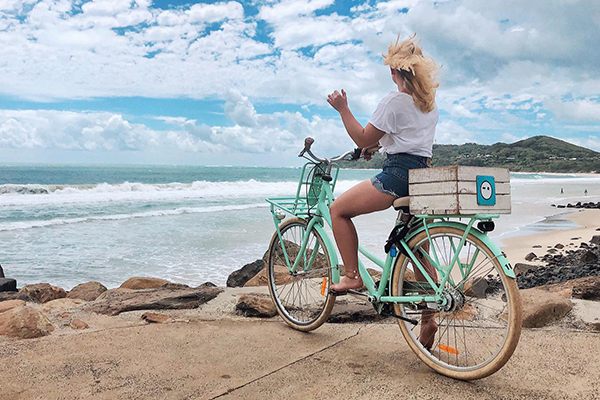 East-Coast-Australia-Byron Bay Bike