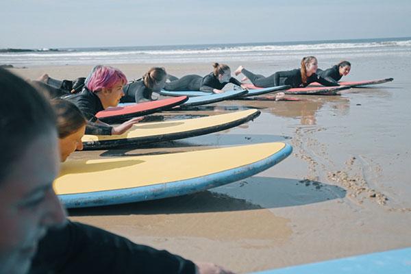 THURSDAY  SURFING AND AUSSIE WILDLIFE