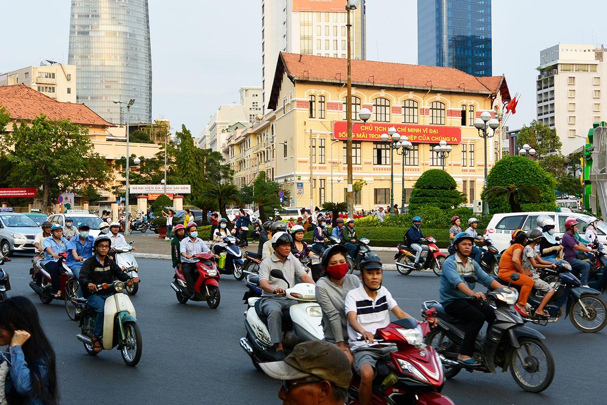 DAY 12 HO CHI MINH CITY