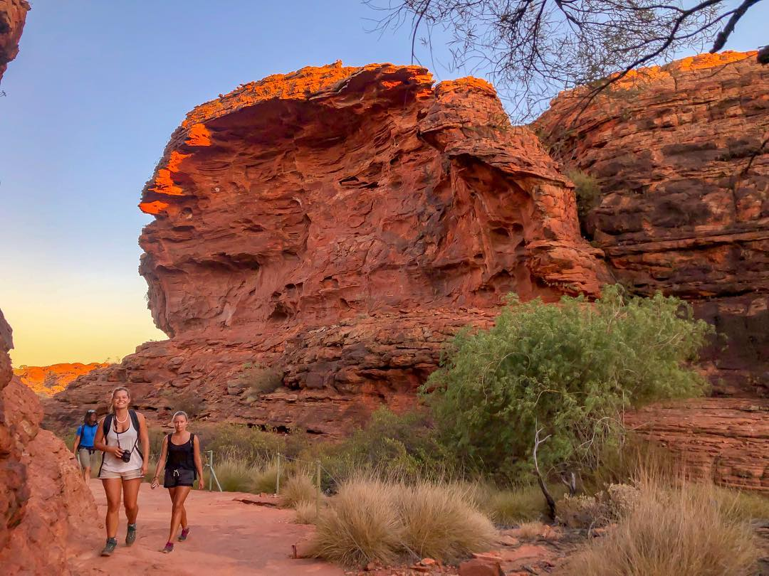 Red Centre Media Grid - Hiking