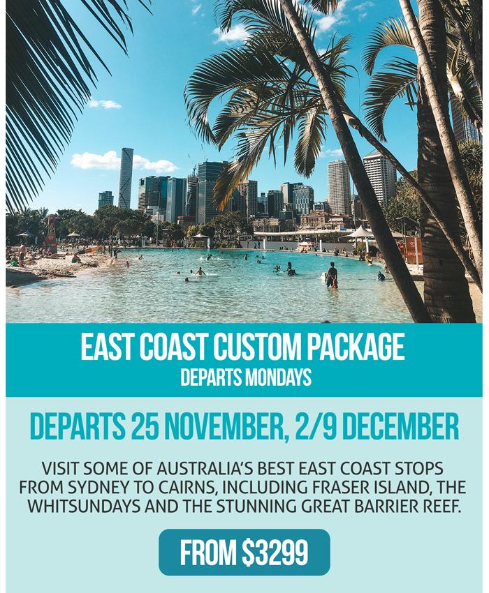 Ultimate Christmas Specials - East Coast Custom Package