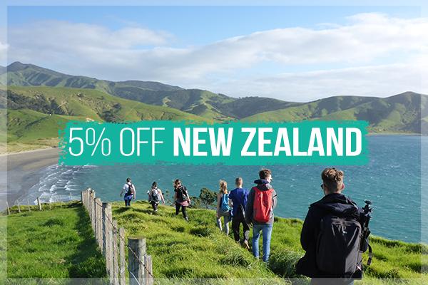 New Zealand Tour Sale