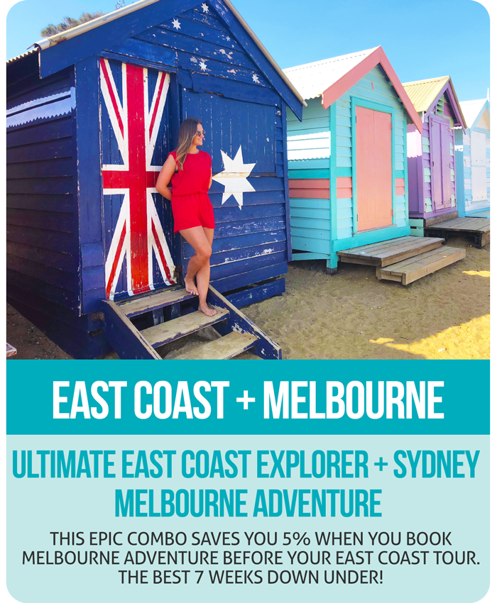 Ultimate East Coast + Melbourne Adventure Combo