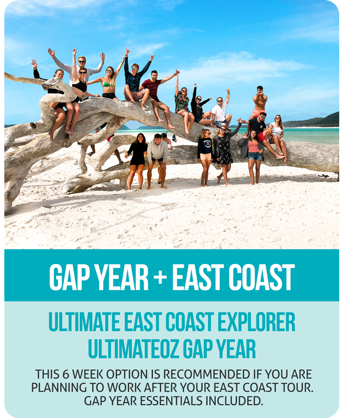 Ultimate East Coast + UltimateOz Gap Year Combo
