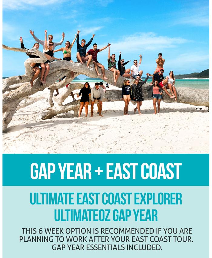 Ultimate East Coast + UltimateOz Gap Year Combo