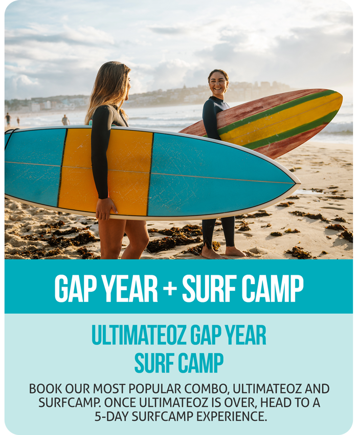 UltimateOz Gap Year + Surf Camp Combo